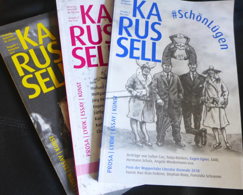 """Karussell. Bergische Zeitschrift für Literatur"""" – Die Heft-Premiere ..."""